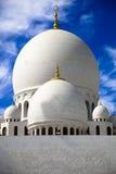 грандиозный zayed шейх мечети Стоковые Фотографии RF