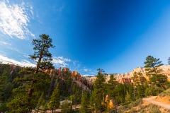 Гранд-каньон, Аризона, пейзаж перспективы в осени на восходе солнца Стоковое фото RF