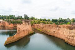Гранд-каньон в Чиангмае, Таиланде Стоковое Фото