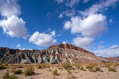 Гранд-каньон Wensu в осени стоковое фото