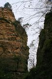 Гранд-каньон Yangshao стоковое изображение rf