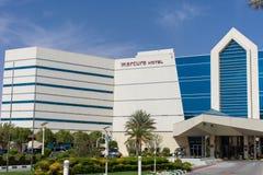 Гранд-отель Mercure на Jebal Hafeet Jebel Hafit в Al Ain, Объениненных Арабских Эмиратах стоковое изображение rf