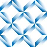 Граненная решетка, цепляет безшовную картину Monochrome геометрическое lattic Стоковая Фотография RF