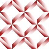 Граненная решетка, цепляет безшовную картину Monochrome геометрическое lattic Стоковые Изображения RF