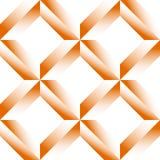 Граненная решетка, цепляет безшовную картину Monochrome геометрическое lattic Стоковые Фото