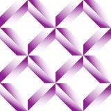 Граненная решетка, цепляет безшовную картину Monochrome геометрическое lattic Стоковые Фотографии RF