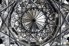 Граненое стекло--макрос Стоковые Изображения