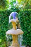 гранит фонтана гравировки стоковое фото