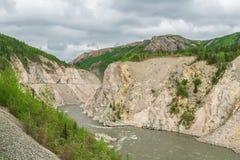 Граница Аляски Стоковое Изображение RF