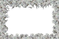 Граница банкнот доллара Стоковое Изображение