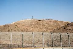 Граница Египта Израиля стоковые изображения rf