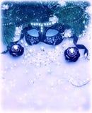 Граница маски масленицы Стоковое Фото
