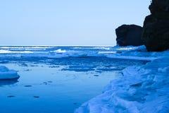 Граница между морем и небом Стоковые Изображения RF