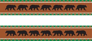 Граница медведя Стоковое Изображение
