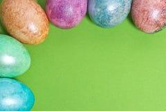 Граница пасхального яйца Стоковое Изображение