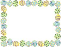 Граница пасхального яйца Стоковое Изображение RF