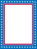 граница патриотическая Стоковые Фотографии RF