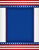 граница патриотическая Стоковая Фотография RF