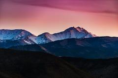 Граница пиковая Невада стоковые фото