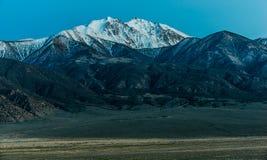Граница пиковая Невада стоковое изображение