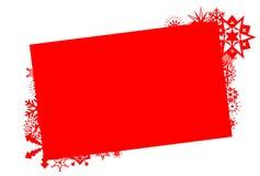 Граница праздника зимы Стоковое Изображение RF