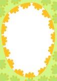 Граница рамки пасхального яйца Стоковые Фото