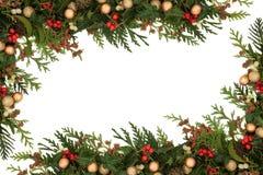 Граница рождества Стоковые Фотографии RF