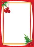 Граница рождества Стоковые Изображения RF