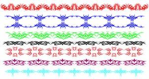 Граница управляет орнаментальными линиями Стоковое Изображение RF