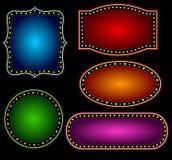 Граница шатёр иллюстрация вектора