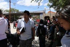 граница bolivian Аргентины стоковая фотография rf