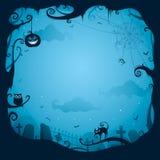 Граница Halloween для конструкции бесплатная иллюстрация