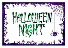 Граница Halloween для конструкции Стоковое Изображение RF