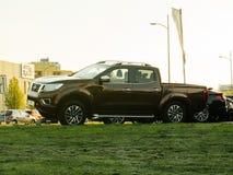 Граница Nissan Navara для продажи на delaer автомобиля Стоковая Фотография
