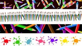 граници искусства иллюстрация вектора