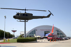 Границы музея полета в Далласе Стоковое фото RF