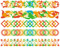 граничит цветастую серию иллюстрация штока
