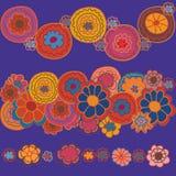 граничит яркое флористическое иллюстрация штока