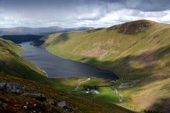 граничит talla Шотландии Стоковое Изображение