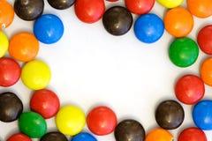 граничьте конфету горизонтальную Стоковые Изображения RF