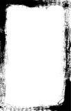 граничьте почищенное щеткой угловойое темное vec Стоковое фото RF