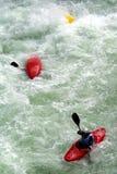 Граничьте Cayak Rassa Valsesia (VC) - Италию - выставка interneational на 02 06 2007 Стоковые Фото