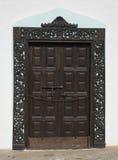 Грандиозная дверь в Канарских островах Las Palmas Испании Фуэртевентуры Стоковое фото RF