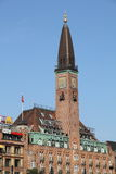 Грандиозная гостиница, Копенгаген стоковое фото