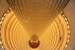 Грандиозная гостиница Hyatt Шанхая стоковая фотография rf