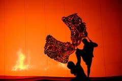 Грандиозная игра тени Стоковые Фото