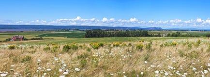 Грандиозная панорама Pré, Новая Шотландия Стоковое фото RF