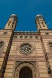 Грандиозная синагога в Будапеште Венгрии Стоковые Изображения RF