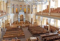 Грандиозная хоровая синагога Санкт-Петербурга Россия Стоковые Фото