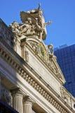 Грандиозная центральная скульптура стоковая фотография